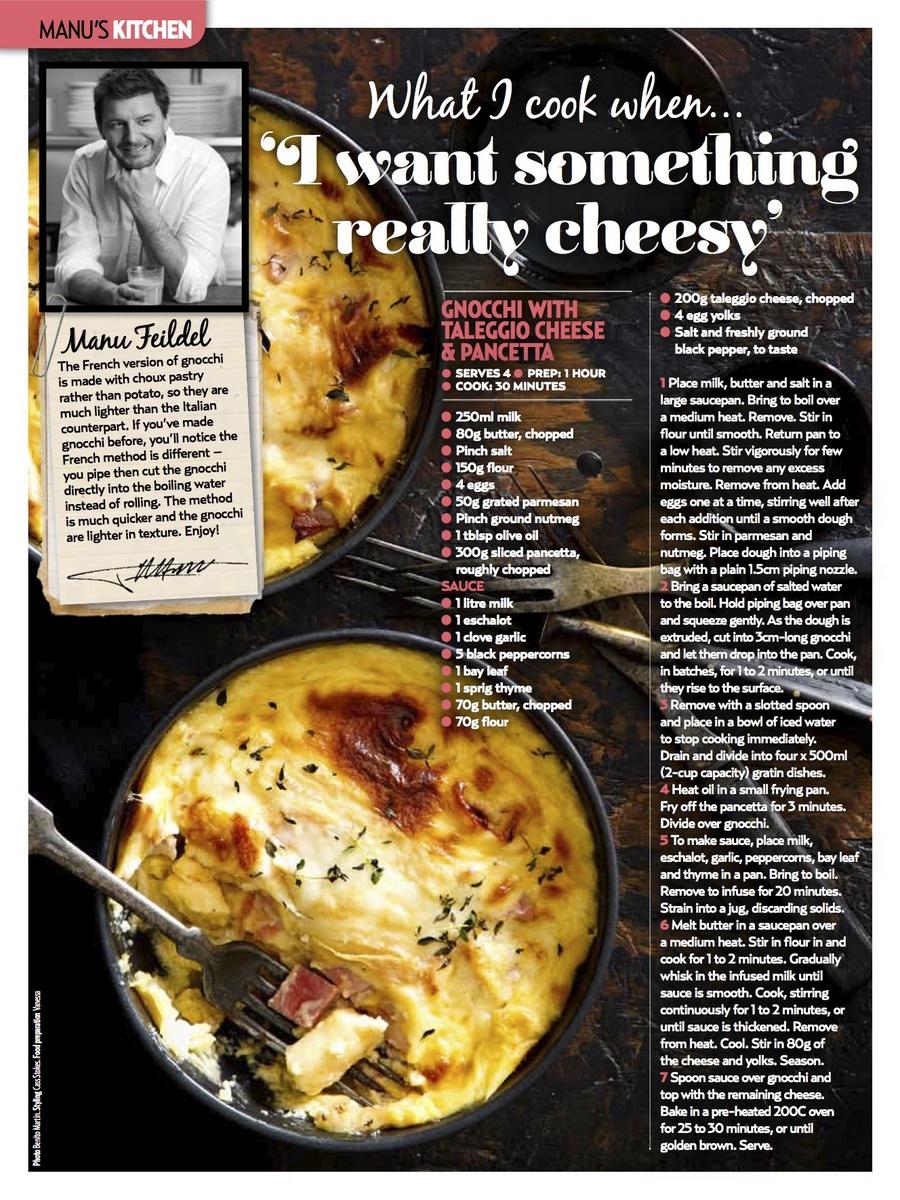 Gnocchi with Taleggio Cheese & Pancetta
