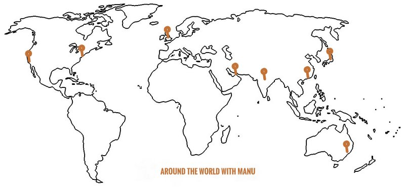 Around the World with Manu - Manu Feildel :: Manu Feildel