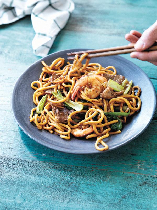 Manu Feildel's Pork & Prawn Hokkien Noodles