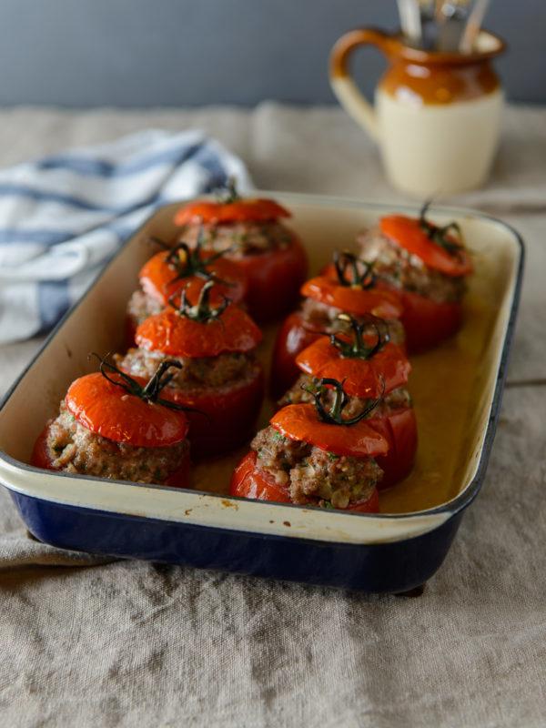 Manu Feildel - Stuffed Tomatoes