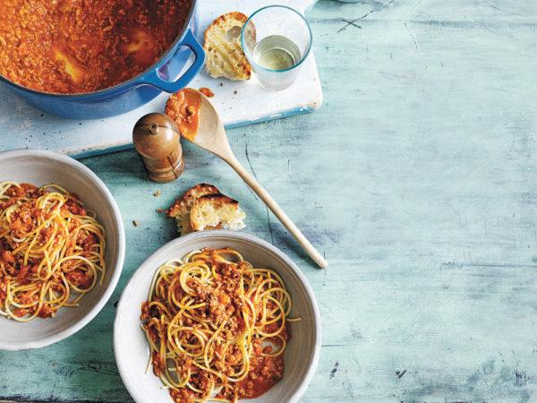 Manu Feildel's Spaghetti Bolognese