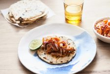 Cochinita Pibil - Roast Pork & Black Bean Tortillas