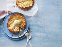 Apple & Almond Frangipane Tarts
