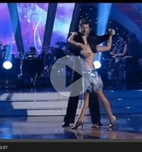 Dancing with the Stars Finale – Manu's perfect score performance