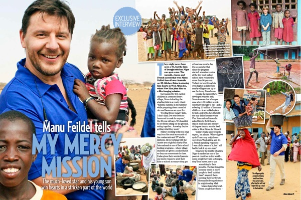 Manu in Niger, Africa - New Idea Article