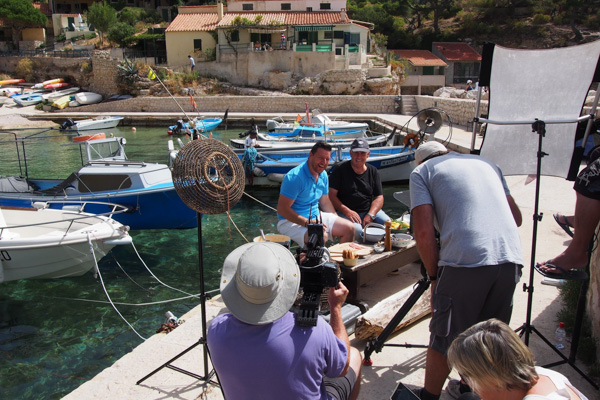 Behind the Scenes: Filming in France!