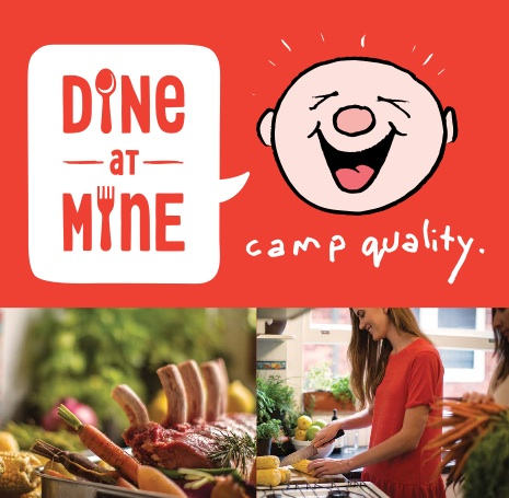 Join Camp Quality for 'Dine at Mine' 2014