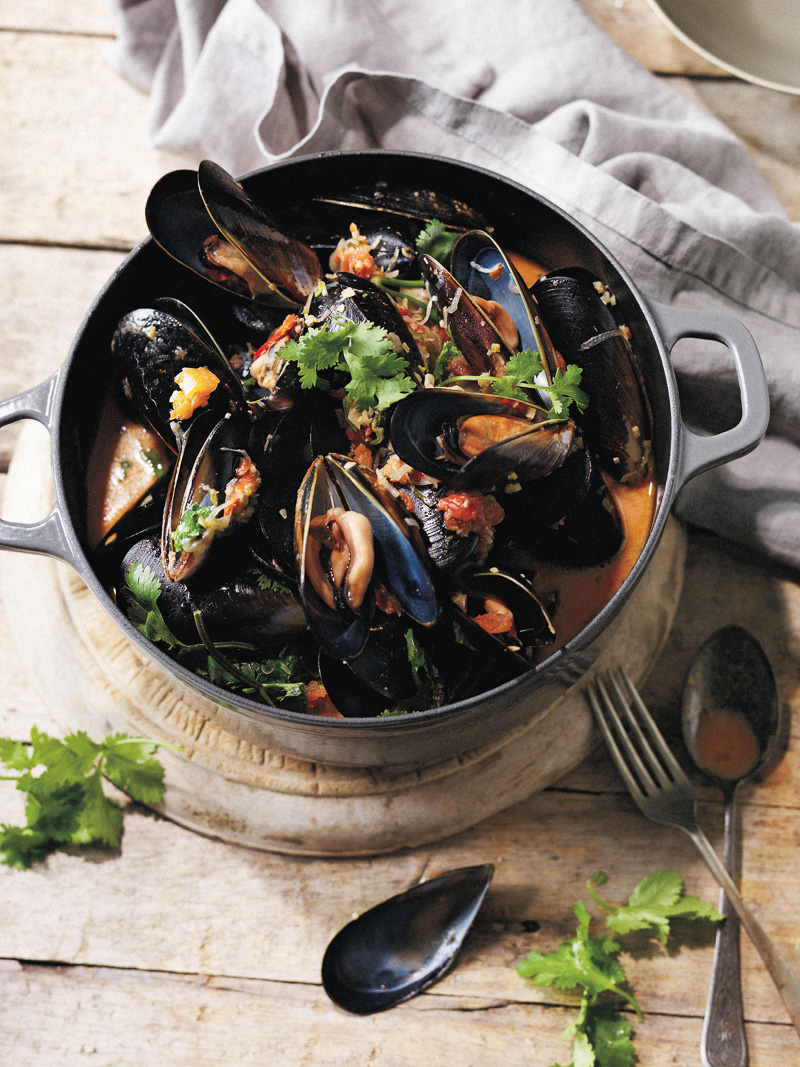 Asian-Style Mussels